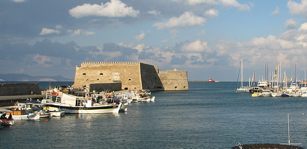 Koules  fortress, Heraklion Harbour