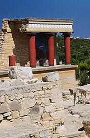 Knossos Crete Knossos Palace